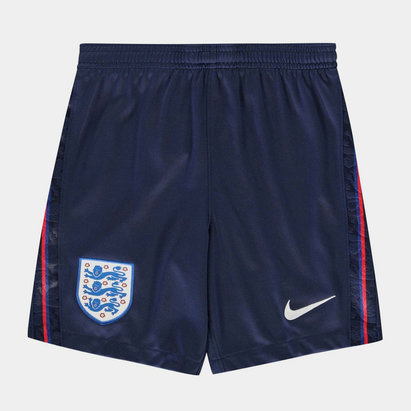 Nike England 2020 Kids Home Football Shorts