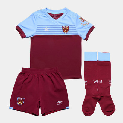 Umbro West Ham United 19/20 Home Mini Football Kit