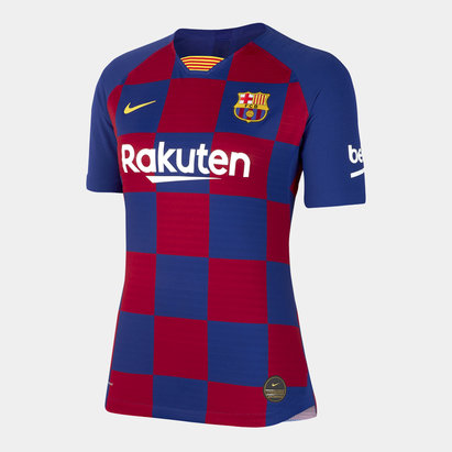 Nike Barcelona 19/20 Home Vapor S/S Football Shirt