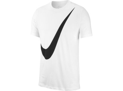 Nike Large Swoosh T Shirt Mens