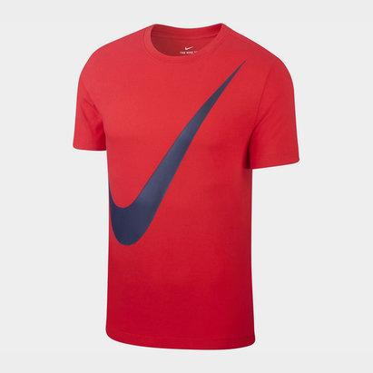 Nike Large Swoosh T Shirt Mens