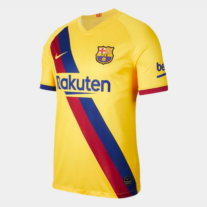 Nike FC Barcelona 19/20 Away Replica Football Shirt