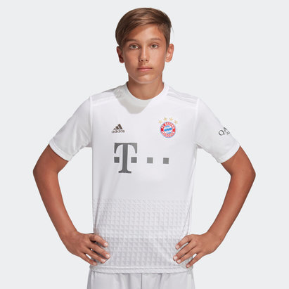 adidas FC Bayern Munich 19/20 Kids Away S/S Football Shirt