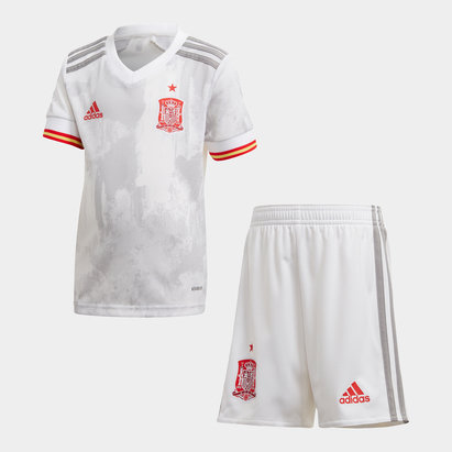 adidas Spain 2020 Away Mini Kids Football Kit