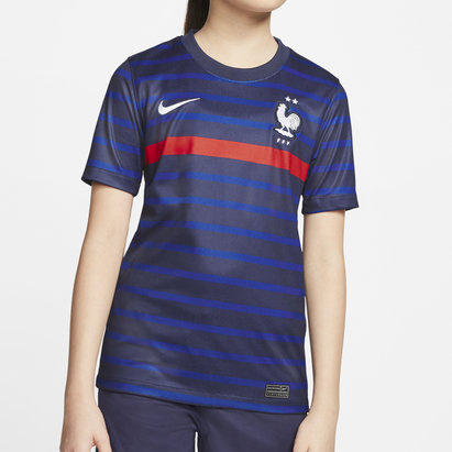 Nike France 2020 Kids Home Football Shirt