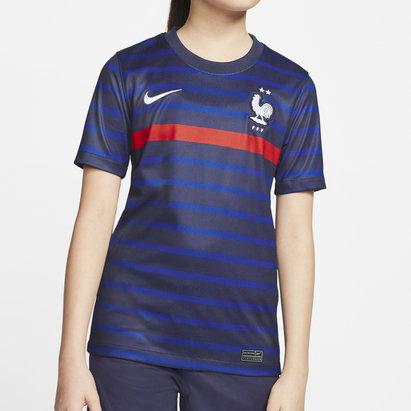 Nike France 2020 Kids Home Football Shirt