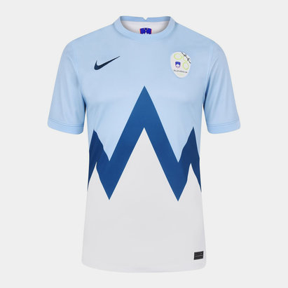 Nike Slovenia 2020 Home Football Shirt