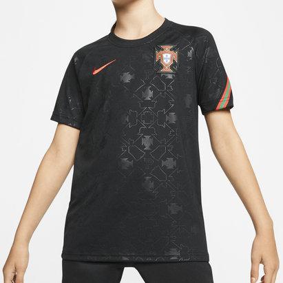 Nike Portugal 2020 Kids Pre Match Football Shirt
