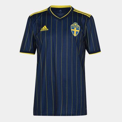 adidas Sweden 2020 Away Football Shirt