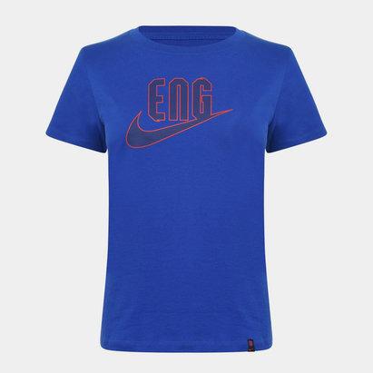 Nike England T Shirt 2020 Ladies