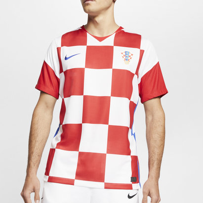 Nike Croatia 2020 Home Football Shirt