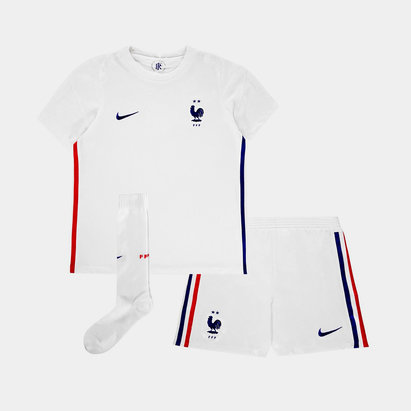 Nike France 2020 Away Mini Kids Football Kit