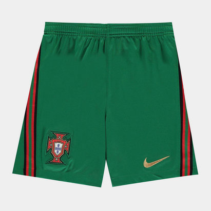 Nike Portugal 2020 Kids Home Football Shorts