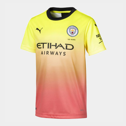 Puma Manchester City 19/20 Third Shirt Mens