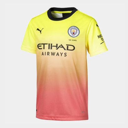 Puma Manchester City 19/20 Third Shirt Mens