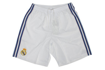 adidas Real Madrid 16/17 Home Kids Replica Football Shorts