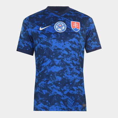 Nike Slovakia 2020 Home Football Shirt