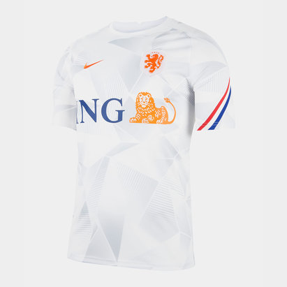 Nike Netherlands Pre Match Shirt 2020 Mens