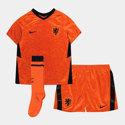 Nike Holland 2020 Home Mini Kids Football Kit