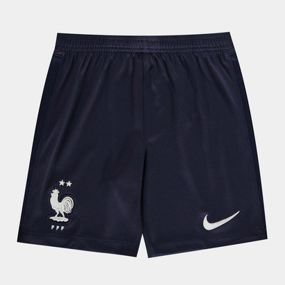 Nike France 2020 Kids Home Football Shorts