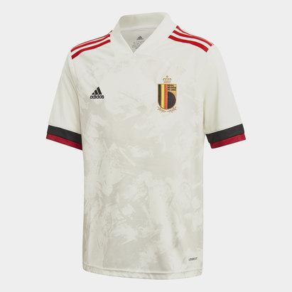 adidas Belgium 2020 Kids Away Football Shirt