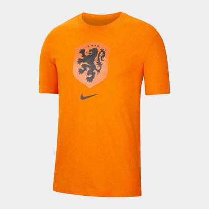 Nike Netherlands Crest T Shirt 2020 Mens