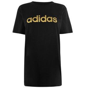 adidas Foil QT T Shirt Ladies