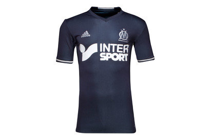 Olympic Marseille 1617 Away SS Replica Football Shirt