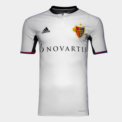 adidas FC Basel 16/18 Away S/S Football Shirt
