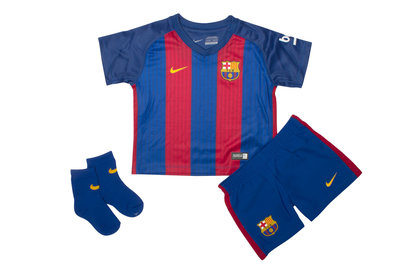 Nike FC Barcelona 16/17 Infants Home Football Kit