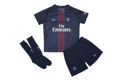 Paris SaintGermain 1617 Little Kids Home Football Kit