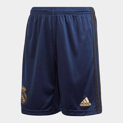 adidas Real Madrid Away Shorts 2019 2020 Junior
