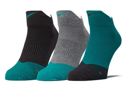 Image of 3 Pack Dri-FIT Lightweight Low Quarter Training Socks
