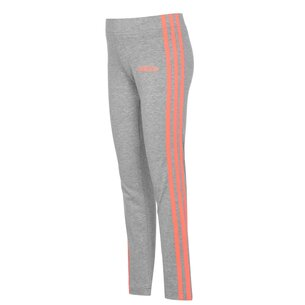 adidas Girls Essentials 3 Stripes Leggings