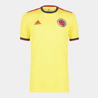adidas Colombia 2020 Home Football Shirt