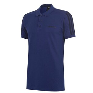 adidas 3 Stripes Logo Polo Shirt Mens