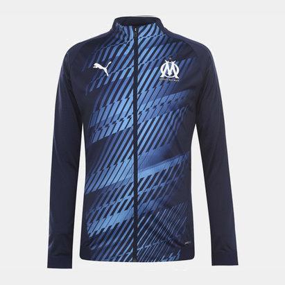 Puma Olympique Marseille Stadim Jacket Mens
