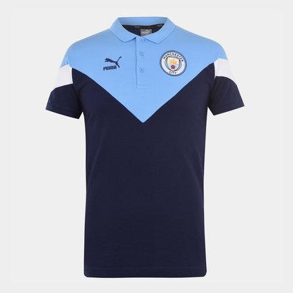 Puma Manchester City FC Polo Shirt 20/21 Mens