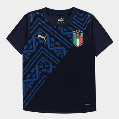 Puma Italy Pre Match T Shirt Juniors