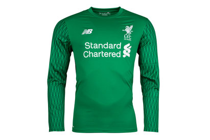 New Balance Liverpool FC 17/18 Goalkeeper Home L/S Football Shirt