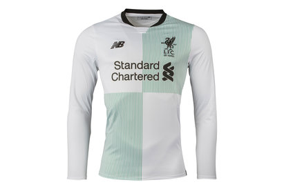 New Balance Liverpool FC 17/18 Away L/S Football Shirt