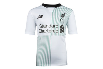 New Balance Liverpool FC 17/18 Away Kids S/S Football Shirt