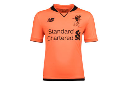 New Balance Liverpool FC 17/18 3rd Kids S/S Football Shirt