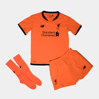 New Balance Liverpool FC 17/18 3rd Mini Kids Football Kit