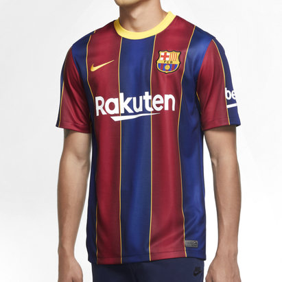 Nike Barcelona Home Shirt 20/21 Mens