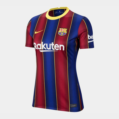 Nike Barcelona Home Shirt 20/21 Ladies