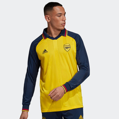 adidas Arsenal Long Sleeve Icon Shirt Mens