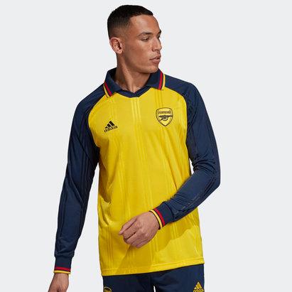 adidas Arsenal Long Sleeve Icon Shirt Mens