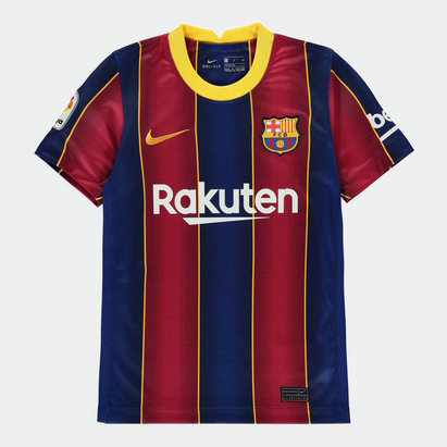 Nike Barcelona Home Shirt 20/21 Junior
