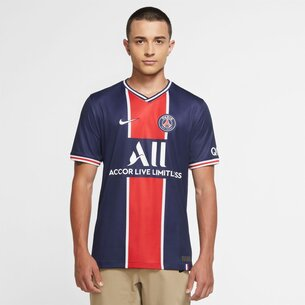 Nike Paris Saint Germain Home Shirt 20/21 Mens